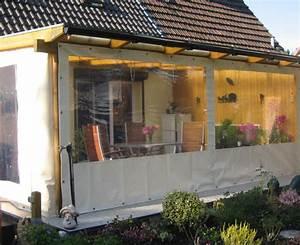 Durchsichtige Plane Terrasse : terrassen windschutz plane wohn design ~ Frokenaadalensverden.com Haus und Dekorationen
