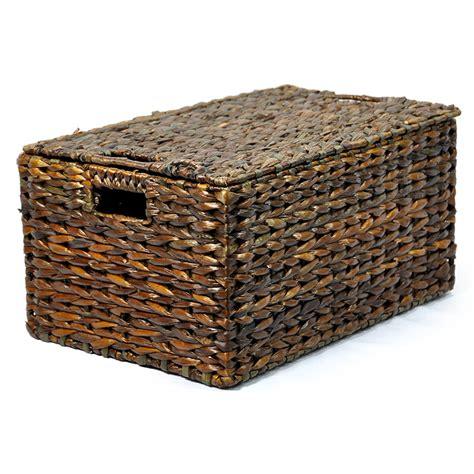 large storage basket with lid 28 best large storage basket with lid large rectangular design willow storage basket with