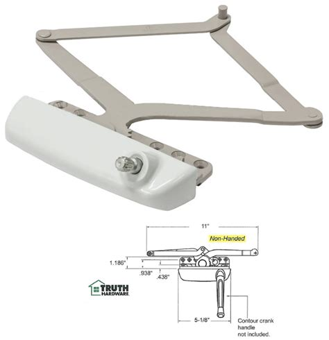 truth hardware maxim narrow awning window operator