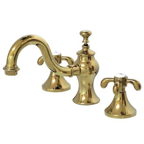kingston brass tear drop cross 8 in widespread 2 handle