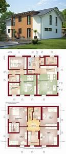 Haus Bauen Ideen Grundriss : modernes einfamilienhaus mit einliegerwohnung satteldach ~ Orissabook.com Haus und Dekorationen