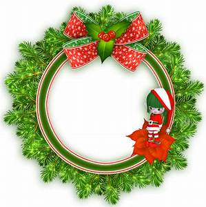 christmas transparent png borders and frames | Round ...