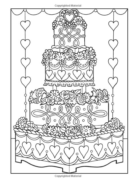 creative haven designer desserts coloring book creative