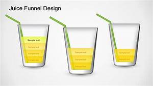 Juice Funnel Diagram Powerpoint Template