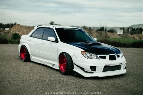 modified subaru 2006 subaru wrx sti cars white modified wallpaper