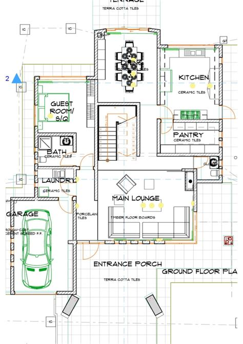 house plans  kenya  bedroom kenani mid house plan david chola architect