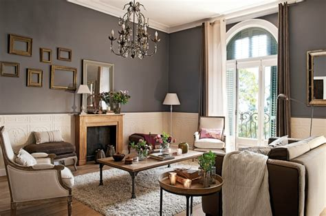 ideen fuer taupe farbe im innendesign