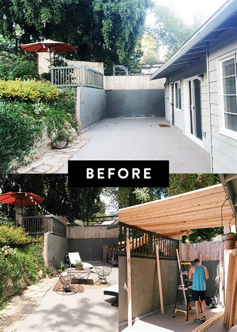 my patio before after sfgirlbybay