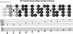 Bass Guitar Scale F Sharp Minor