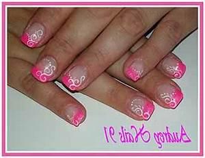 Déco French Manucure : ongle french rose deco ~ Farleysfitness.com Idées de Décoration