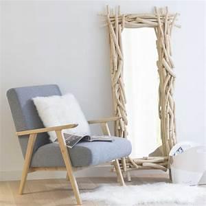 Miroir Fenetre Maison Du Monde : miroir en bois h 153 cm rivage maisons du monde ~ Teatrodelosmanantiales.com Idées de Décoration