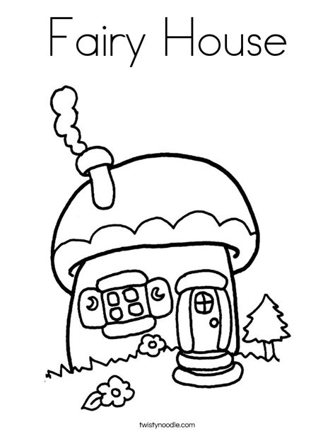 Twisty Noodle Coloring Pages House Coloring Page Twisty Noodle Woodland