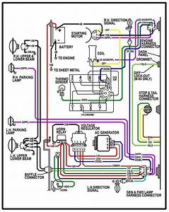 65 C10 Underhood Wiring Diagram