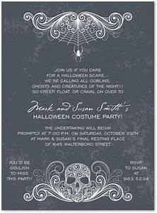 17 best images about halloween party invitations on With scary halloween wedding invitations