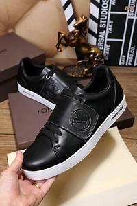 Sneakers Louis Vuitton Homme : sneakers louis vuitton luxe et circulation velcro black ~ Nature-et-papiers.com Idées de Décoration