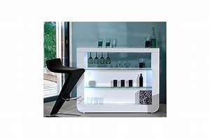 Bar De Salon Moderne : meuble bar comptoir ~ Teatrodelosmanantiales.com Idées de Décoration
