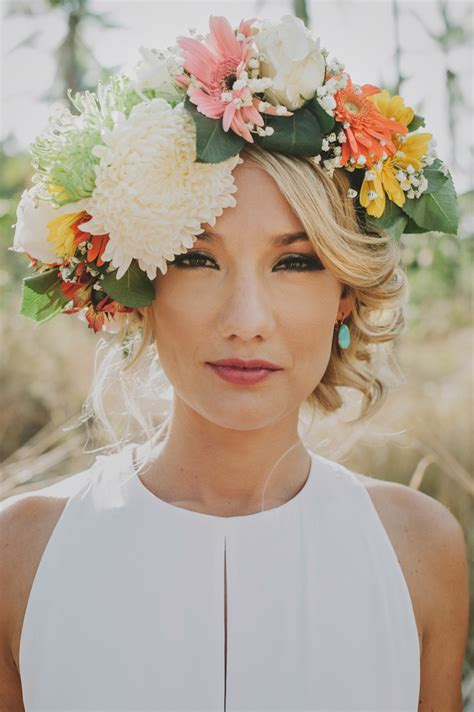 thailand wedding tropical flower crown noubacomau
