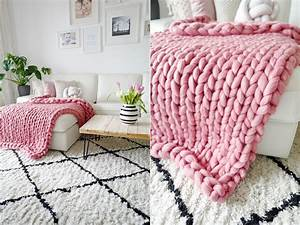 Chunky Knit Decke : diy chunky knit decke video tutorial ~ Whattoseeinmadrid.com Haus und Dekorationen