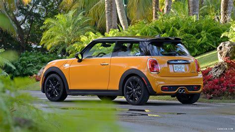 Mini Cooper 3 Door 4k Wallpapers by 2015 Mini Cooper S Yellow Rear Wallpaper 164