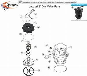 Jacuzzi Bros Jacuzzi 2 U0026quot  Dial Valve Parts