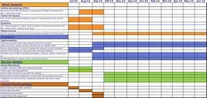 poa plan of action cua digital marketing plan khoa hoc With digital marketing calendar template