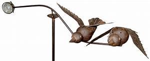 Windspiel Garten Metall : windspiel vogelpaar metall garten balancer mit glaskugel ~ Lizthompson.info Haus und Dekorationen