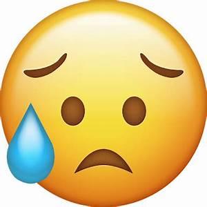 emoji sad trist... Worried Emoji