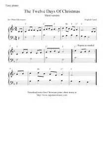 Free Christmas Piano Sheet Music