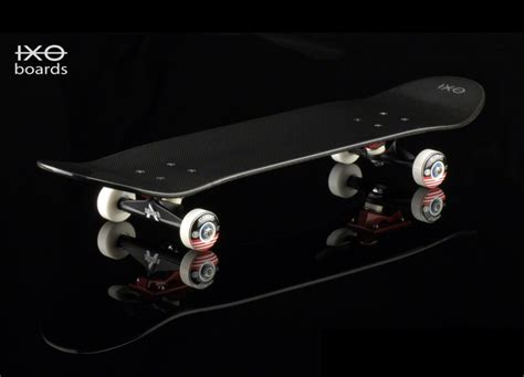 ixo carbon fiber skateboards the awesomer