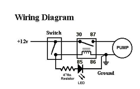 Wiring Electric Water Pump