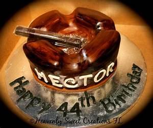 Vegas Themed Designs Ashtray Cake Cigar Cake Birthday Cake By