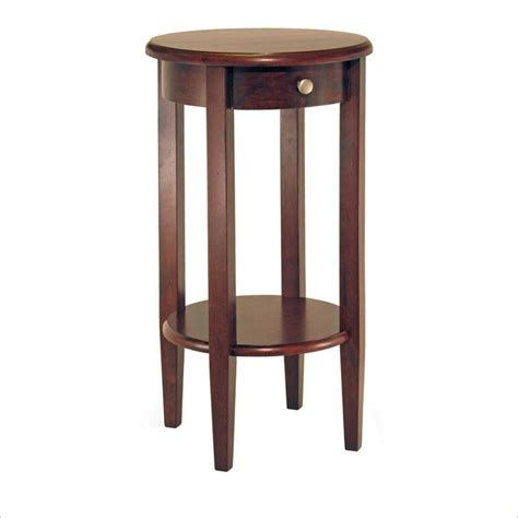 30 tall end table concord round tall end table 94220