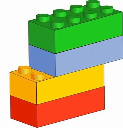 Lego Blocks Clipart Clip Legos Vector Brick