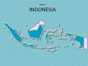 Editable Newspaper Template Map Of Indonesia Template