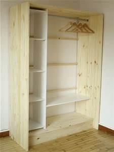 Dressing En Palette : dressing bois et lin esprit cabane idees creatives et ~ Melissatoandfro.com Idées de Décoration