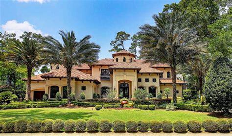 .69 Million Mediterranean Style Home In Houston, Tx