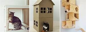 Arbre À Chat Pour Gros Chat : 5 id es pour fabriquer un arbre chat pas cher ~ Nature-et-papiers.com Idées de Décoration