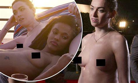 Jamie Clayton strips off in new season of Netflix's Sense8