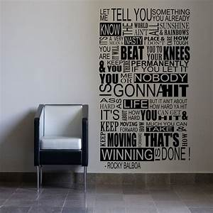 Large Rocky Bal... Large Vinyl Wall Quotes