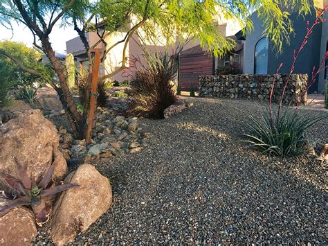 landscaping rock much need yard front boulder field involving planning question key re project material