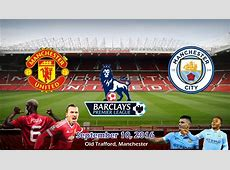 Manchester United vs Manchester City 12 All Goals