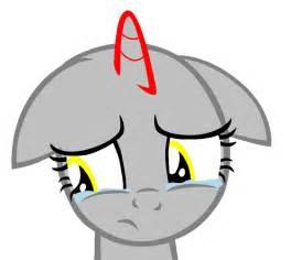 My Little Pony Sad Base MLP