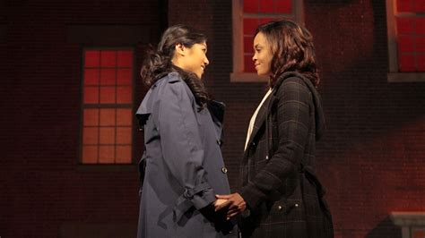 sandra oh new york times review moving power of love in stop kiss confronts