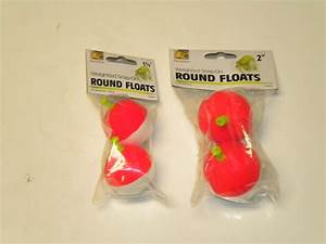 Snap-On Round Foam Weighted Floats | eBay
