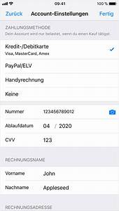 App Store Land ändern : apple id zahlungsdaten ndern oder entfernen apple support ~ Markanthonyermac.com Haus und Dekorationen