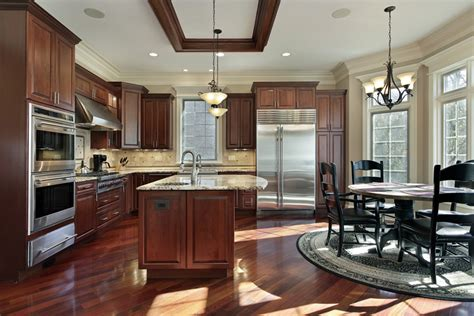 mahogany wood kitchen cabinets 143 luxury kitchen design ideas designing idea 7327