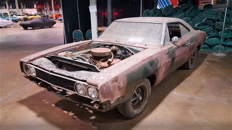 check  super cool  dodge charger  barn find