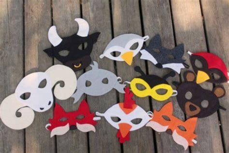 Faschingsmasken Selber Basteln by Faschingsmasken Basteln Sch 246 Ne Tiermasken Mit Kindern