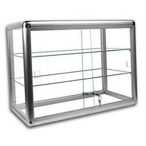 Countertop Showcases - glass showcase display cases ebay