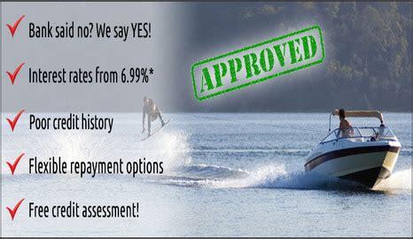 Boat Loan Rates Bad Credit by Bad Credit Boat Loans